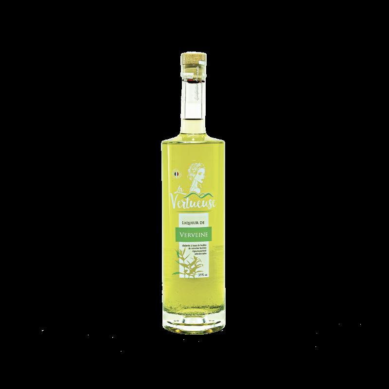 Liqueur de Verveine artisanale digestive 35° - Contenance 70cl